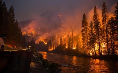 The Chiwaukum Fire in Washington State in 2014. Credit: Washington DNR/flickr