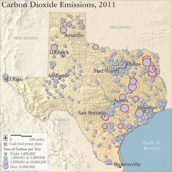 Texas emissions