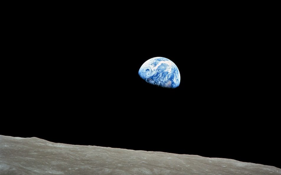 Earthrise detail
