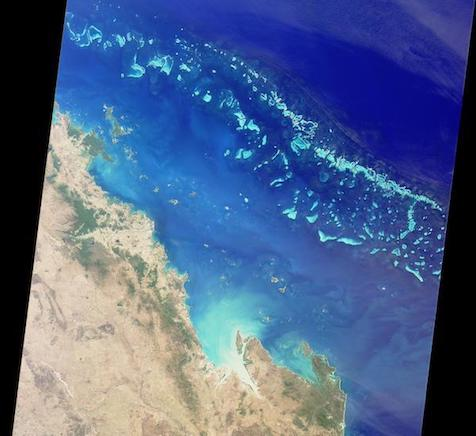 GBR from space
