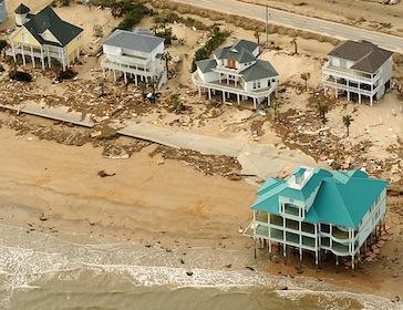 Tcn galveston rising gulf coastal erosion complicate for Coastal home builders texas