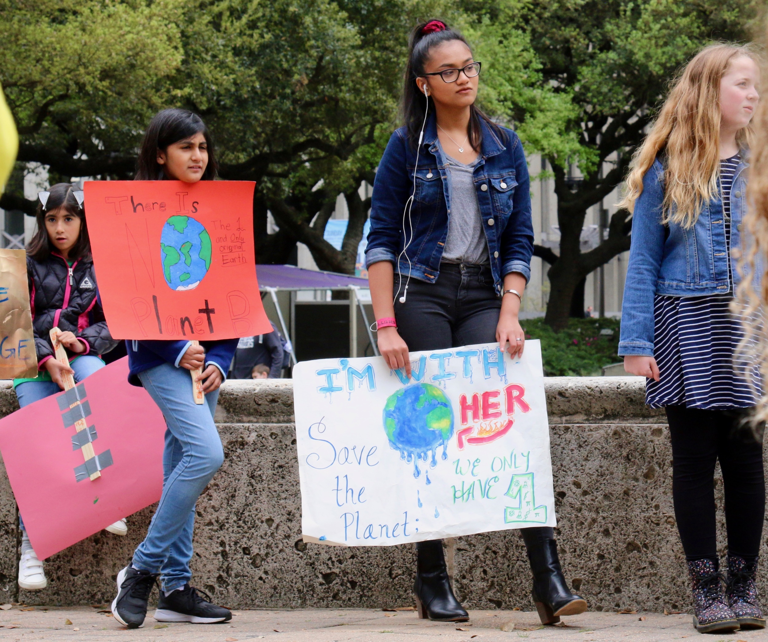 Houston climate rally