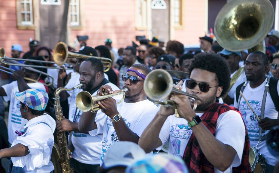 Musicians in New Orleans