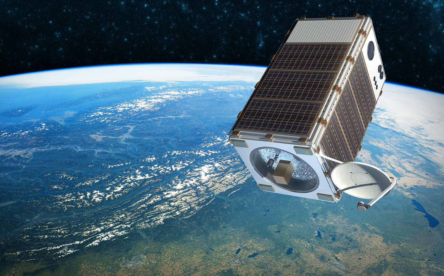 methane-sensing satellite