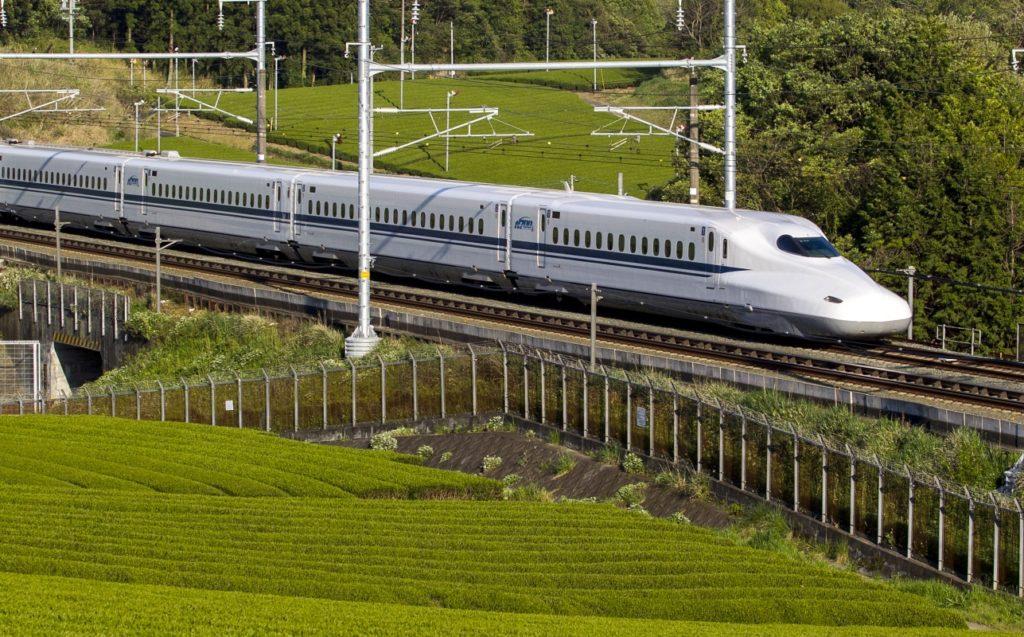 Japanese Series N700 bullet train