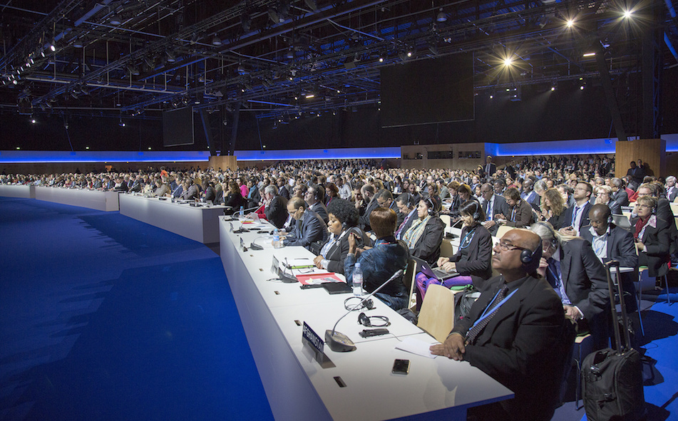 Delegates from nearly 200 nations met in Paris for a historic climate conference.