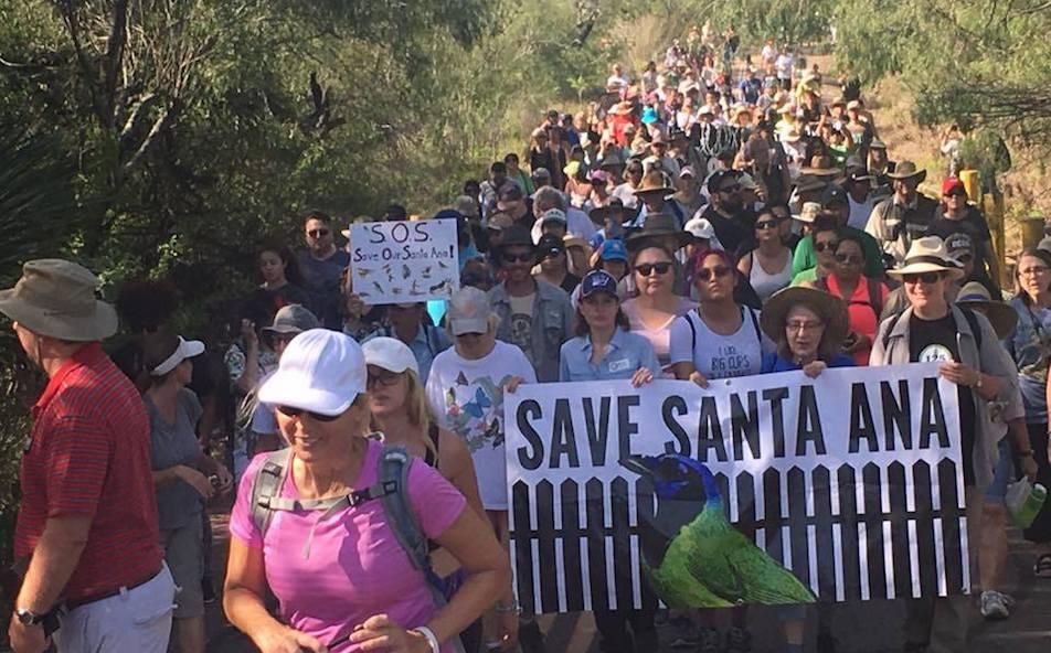 Refuge protest