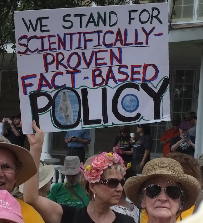 Fact-based policy