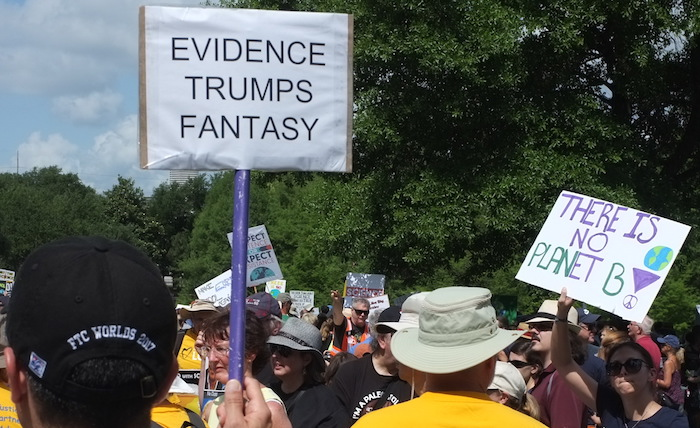 Evidence trumps