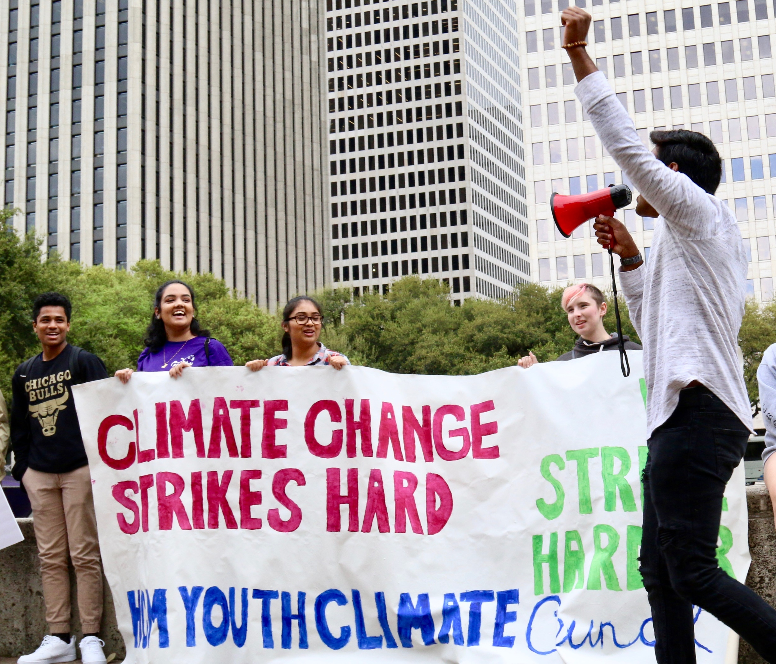 Houston climate rally