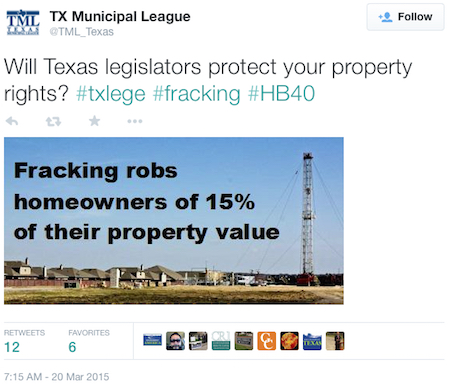 Fracking and property value