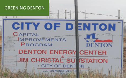 Denton gas plant