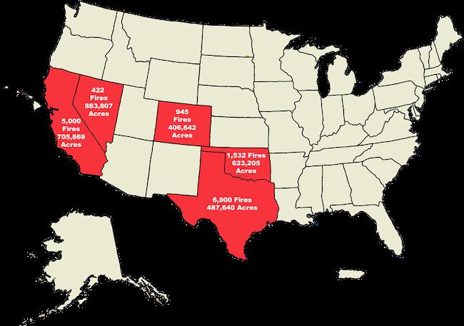 NIFC map Aug 18